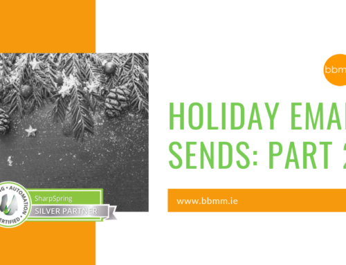 Prepping for Holiday Email Sends Part 2